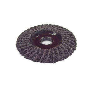 "58154 - 7"" SILICONE CARBIDE 16 GRIT ZEC WHEEL"